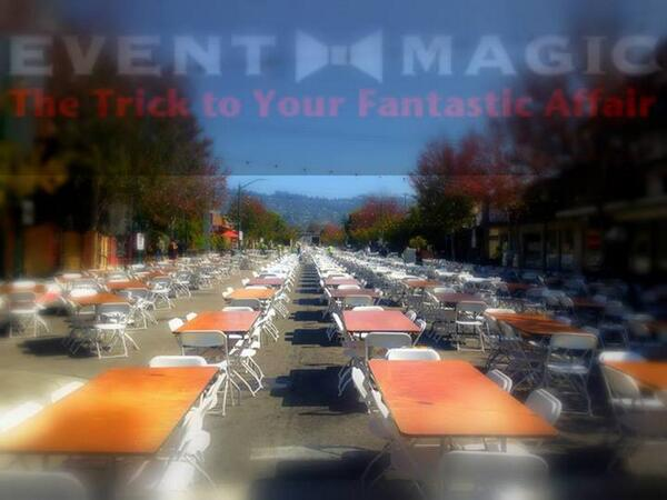 Contact Us To Rent Tables & Chairs For Your Events