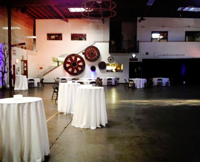 Wedding Reception Set Up in Oakland CA