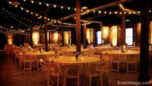 Market And String Lighting For Outdoor Events Event