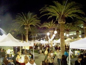 Pop Up Vendor Tents and Lights Installed By Event Magic