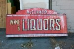 Retro Neon Liquor Store Sign