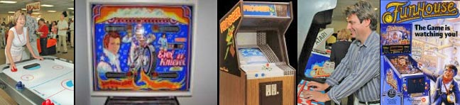 Indoor Arcade Games