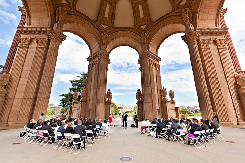 Wedding At Palace Of Fine Arts Event Magic Party